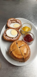 Pork Pie and Scotch Egg
